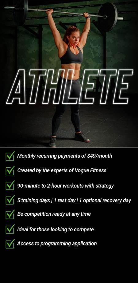 Athlete Program